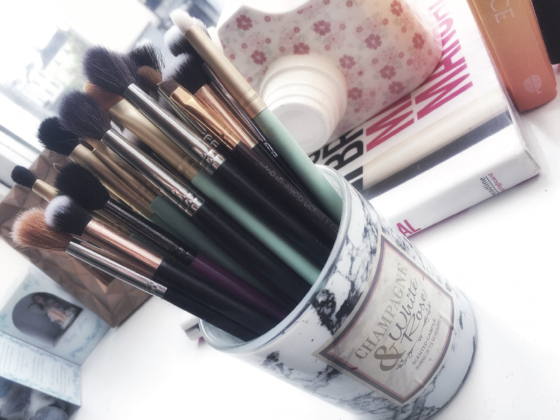 Favourite makeup brushes for everyday - Nima Brush, Buff&Blend, Inglot, Morphe, Billion Dollar Brows on www.beautitude.ie