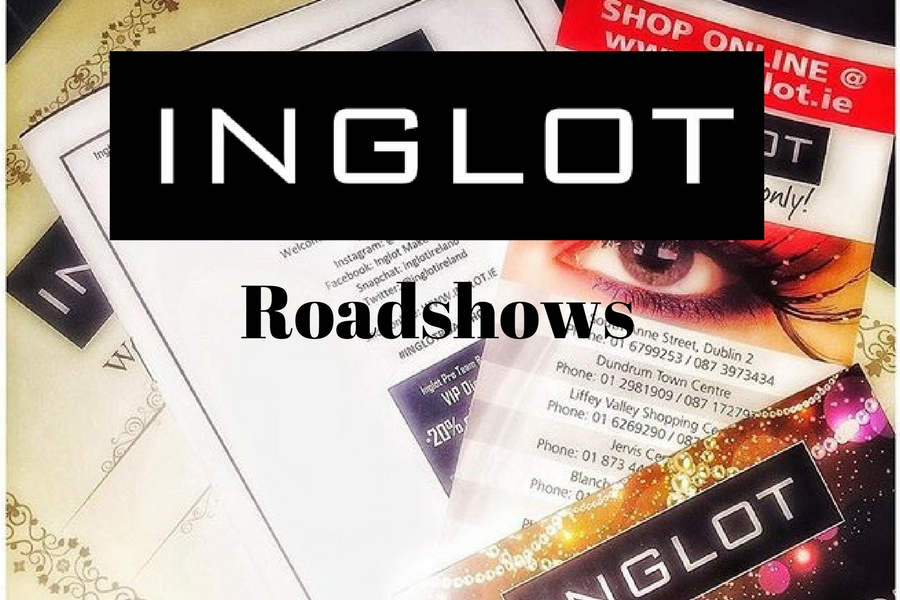 Inglot Roadshow low down and review on beautitude.ie