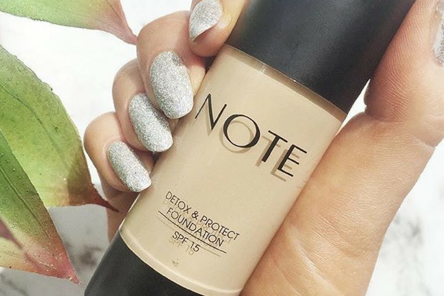 Note Detox & Protect Foundation Review on beautitude.ie