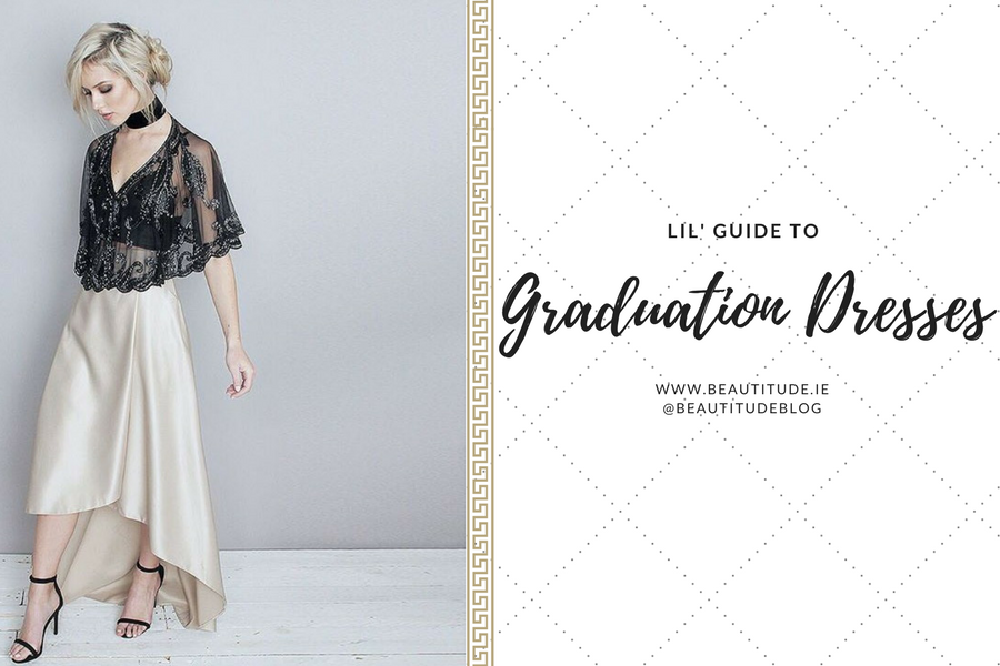 Lil' Guide to Graduation Dresses on www.beautitude.ie What to wear to your graduation: inspiration & ideas from ASOS, River Island, Boohoo and Folkster
