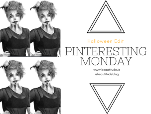 Pinteresting Monday on beautitude.ie - the Halloween edit - Halloween makeup looks from Pinterest