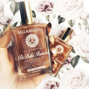 Shimmering Dry Body Oils: Who Wins? Cocoa Brown Golden Goddess vs. Bellamianta BeBellaBronzed Shimmering Dry Body Oil